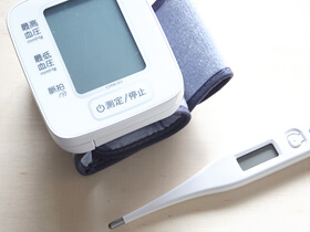 血圧が高い方の施術について